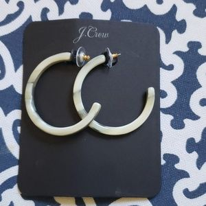 NWT JCrew Hoop Earrings